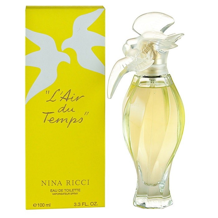 L\'Air du Temps Perfume by Nina Ricci 3.3oz Eau De Toilette Spray for women