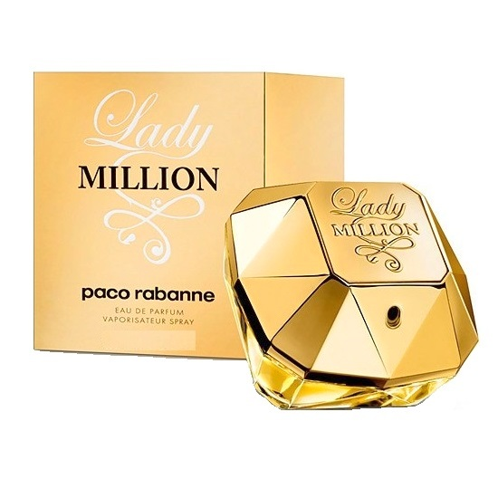 Lady Million Perfume by Paco Rabanne 1.7oz Eau De Parfum spray for Women