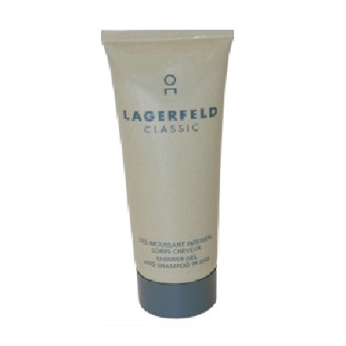 Lagerfeld Shower Gel by Karl Lagerfeld 3.3oz for men