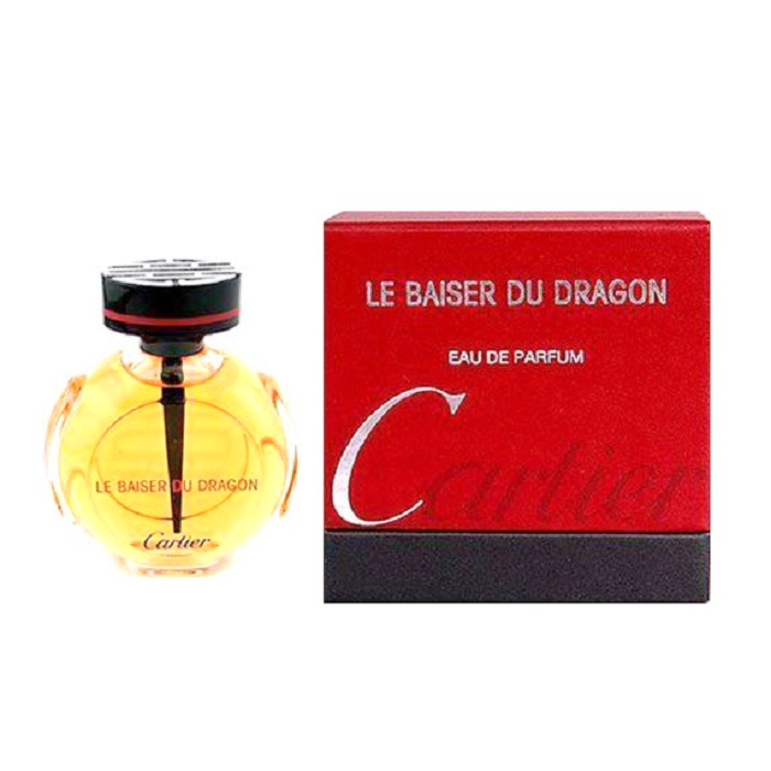 Le Baiser Du Dragon Mini Perfume by Cartier 0.25oz / 7.5ml Eau De Parfum for Women