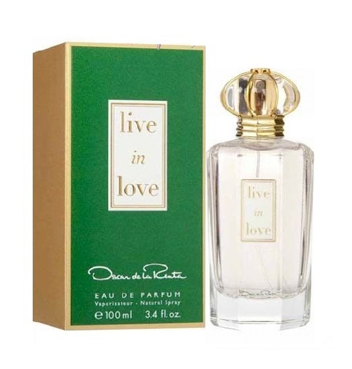 Live in Love Perfume by Oscar De La Renta 3.4oz Eau De Parfum spray for Women