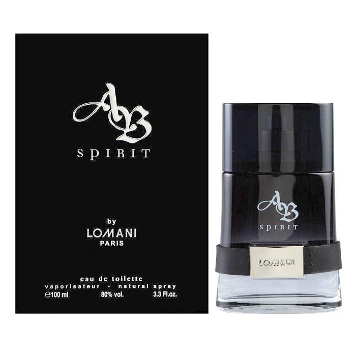 Lomani Ab Spirit Cologne by Lomani 3.4oz Eau De Toilette spray for men