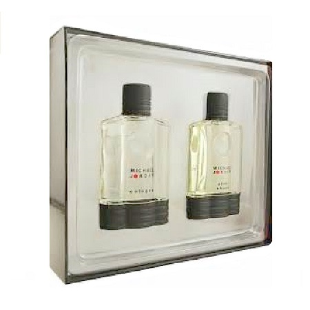 Michael Jordan Gift Set for Men - 3.4oz Eau De Toilette Spray and 3.4oz After Shave Lotion