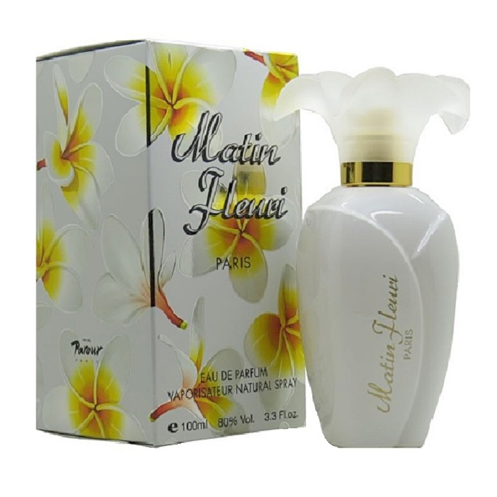 Matin Fleuri Perfume by Lomani 3.3oz Eau De Parfum spray for women