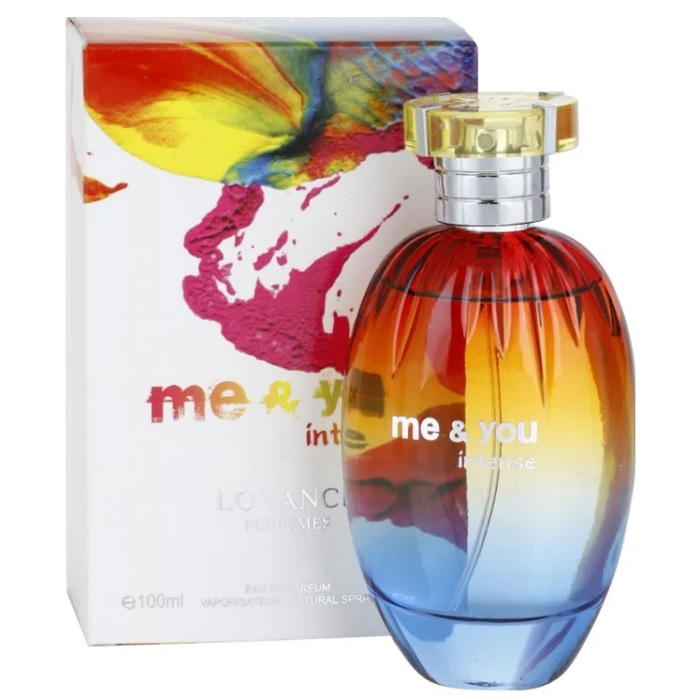 Me and You Intense Perfume by Lovance 3.4oz Eau De Parfum Spray for women