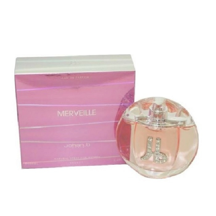 Merveille Perfume by Johan B. 3.4oz Eau De Parfum spray for Women