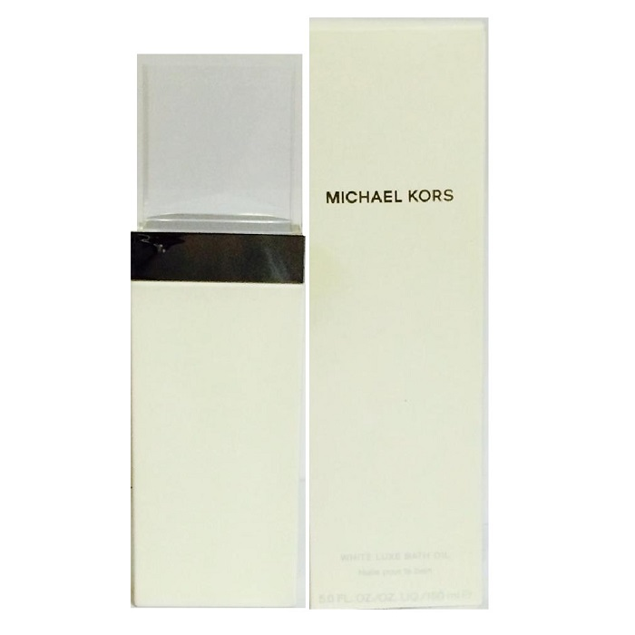 Michael Kors White Luxe Bath Oil by Michael Kors 5.0oz for Women