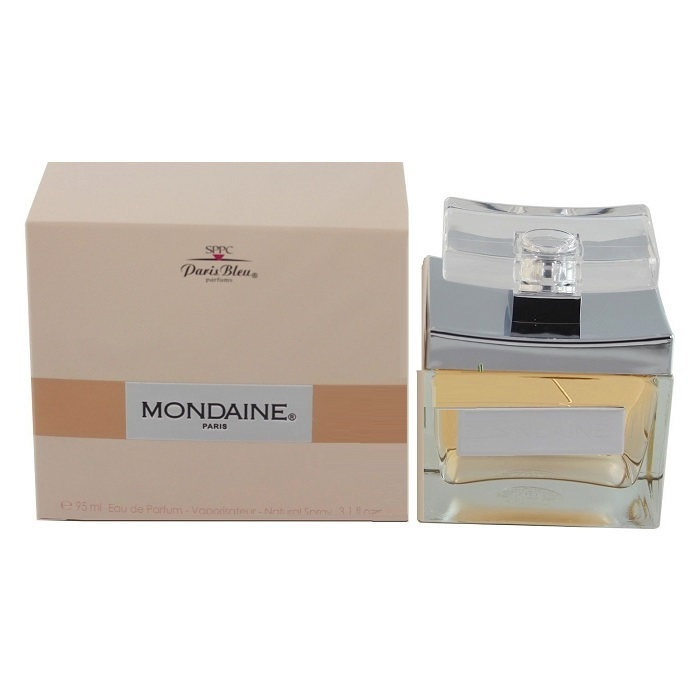 Mondaine Perfume by Paris Bleu 3.1oz Eau De Parfum Spray for women