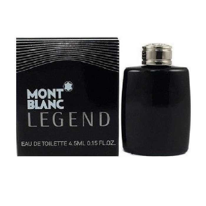 Mont Blanc Legend Mini Cologne by Mont Blanc 4.5ml Eau De Toilette for men