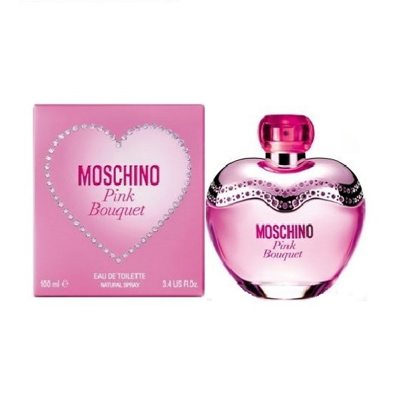 Moschino Pink Bouquet Perfume by Moschino 3.4oz Eau De Toilette spray for Women