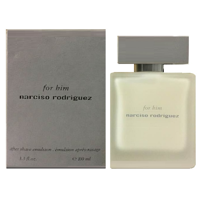 Narciso Rodriguez After Shave Balm Emulsion by Narciso Rodriguez 3.4oz for men