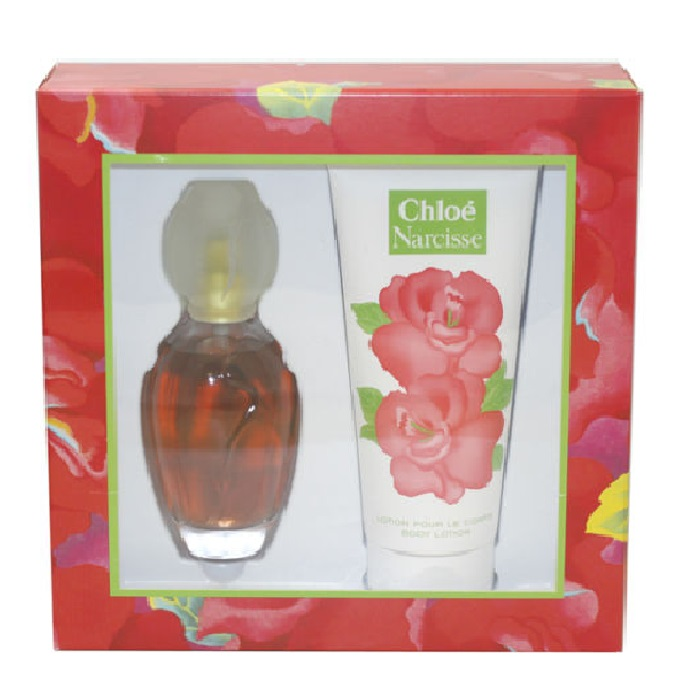 Narcisse Chloe Perfume Gift Set for women - 3.4oz Eau De Toilette Spray & 6.8oz Body Lotion