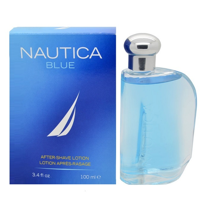 Nautica Blue After Shave Lotion (liquid) by Nautica 3.4oz for men