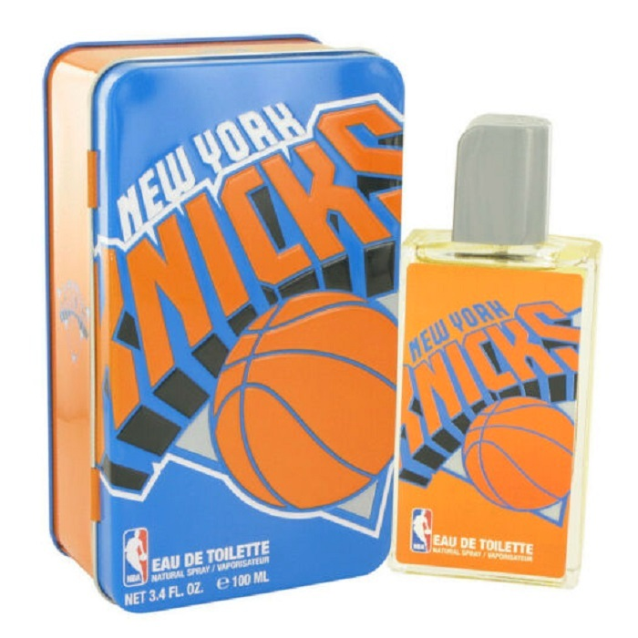 Nba Knicks Cologne by Air Val International 3.4oz Eau De Toilette Spray for men