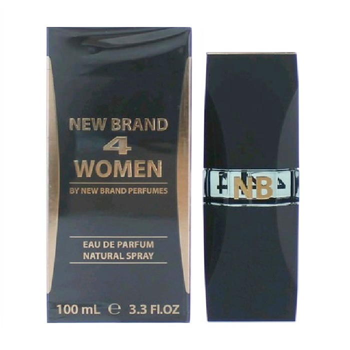 New Brand 4 Women Perfume by New Brand 3.3oz Eau De Parfum spray for women