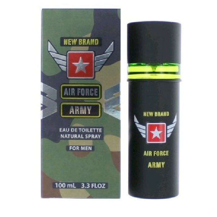 New Brand Air Force Cologne by New Brand 3.3oz Eau De Toilette spray for men