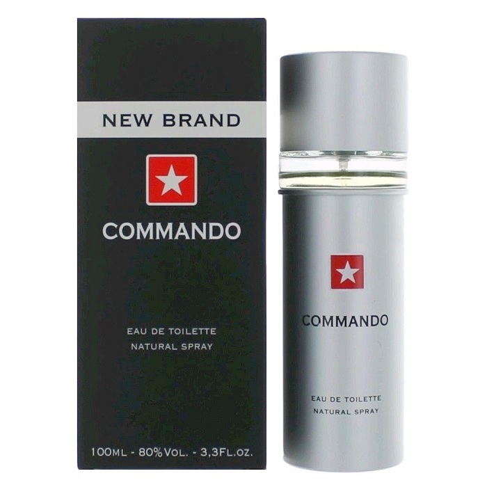 New Brand Commando Cologne by New Brand 3.3oz Eau De Toilette spray for men