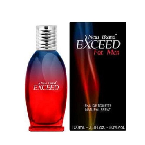 New Brand Exceed Cologne by New Brand 3.3oz Eau De Toilette spray for men