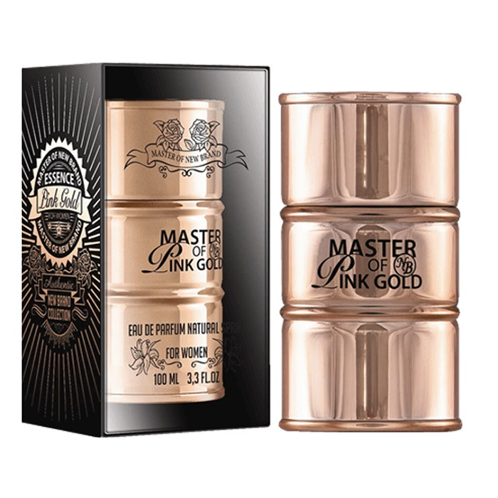 New Brand Master of Pink Gold Perfume by New Brand 3.3oz Eau De Parfum spray for women