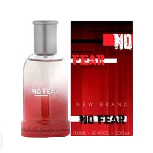 New Brand No Fear Cologne by New Brand 3.3oz Eau De Toilette spray for Men