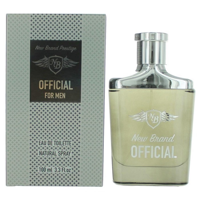 New Brand Official Cologne by New Brand 3.3oz Eau De Toilette spray for men