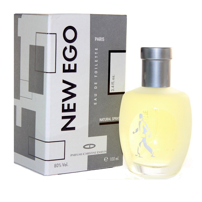 New Ego Cologne by Christine Darvin 3.4oz Eau De Toilette spray for men