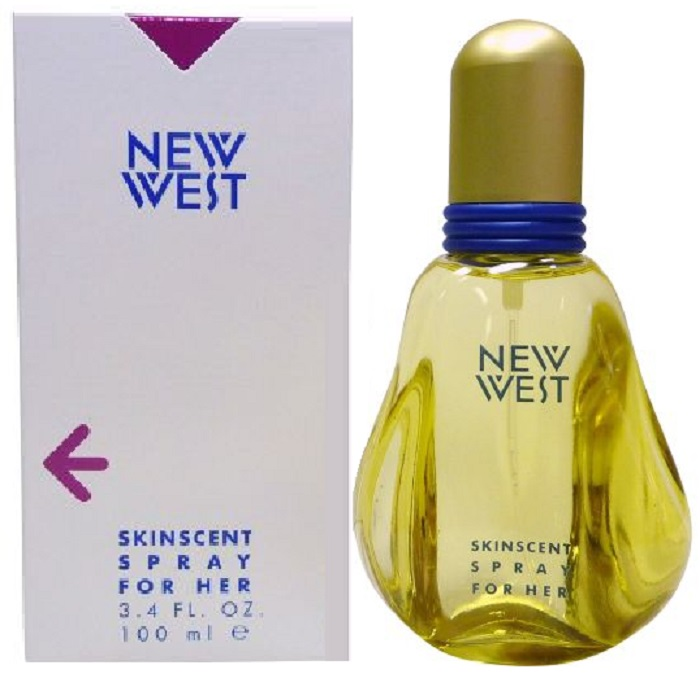 New West Perfume by Aramis 3.4oz skinscent spray for her