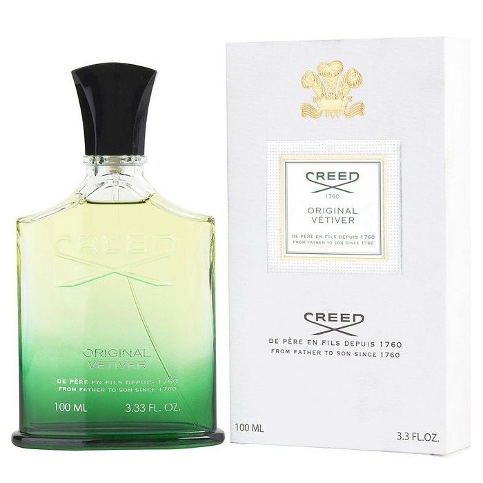 Original Vetiver Perfume by Creed 3.3oz Eau De Perfume Millesime Spray (unisex)