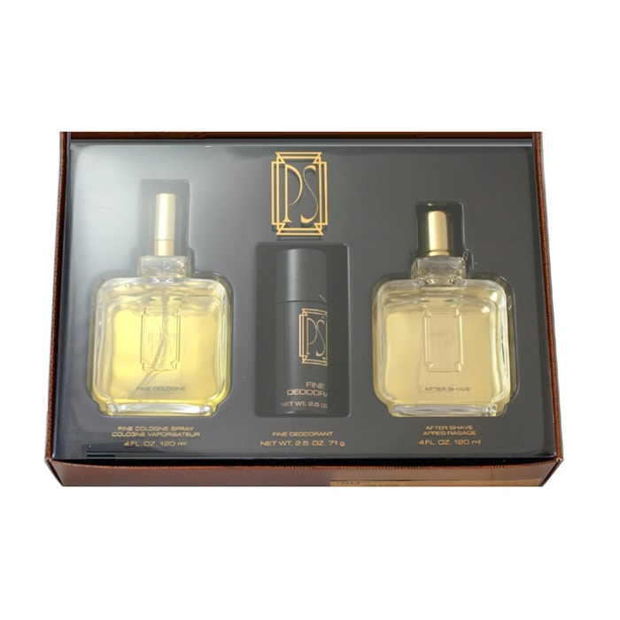 PS Cologne Gift Set - 4oz Cologne Spray, 4oz After Shave Lotion, & Deodorant Stick