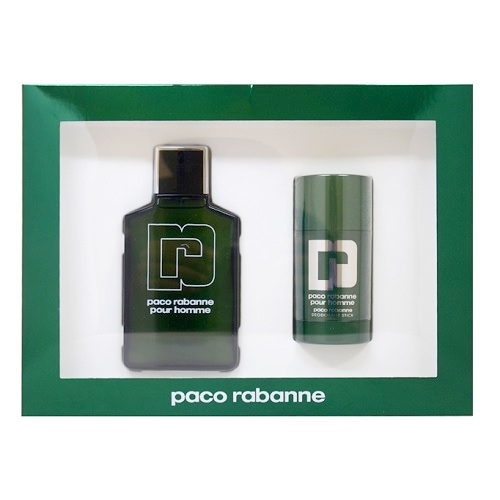 Paco rabanne Gift Set for Men - 3.3oz Eau De Toilette spray & 2.2oz Deodorant Stick