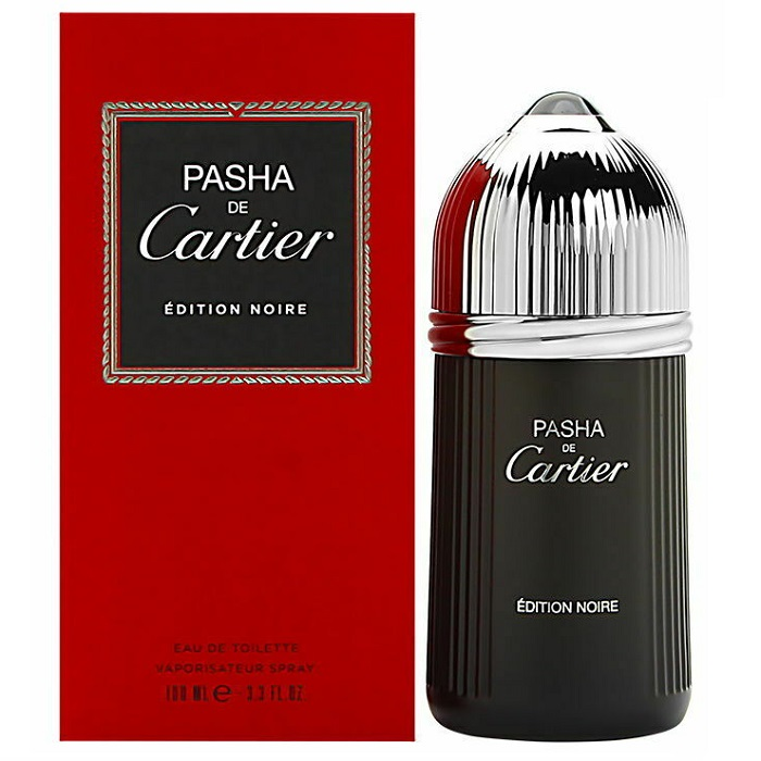Pasha De Cartier Edition Noire Cologne by Cartier 3.3oz Eau De Toilette Spray for men