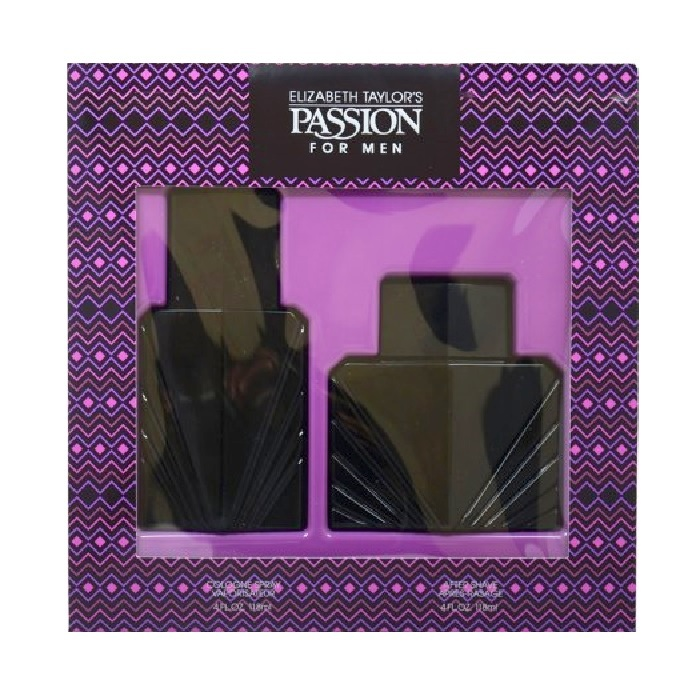 Passion Gift Set for men - 4.0oz Cologne spray, & 4.0oz After Shave Lotion