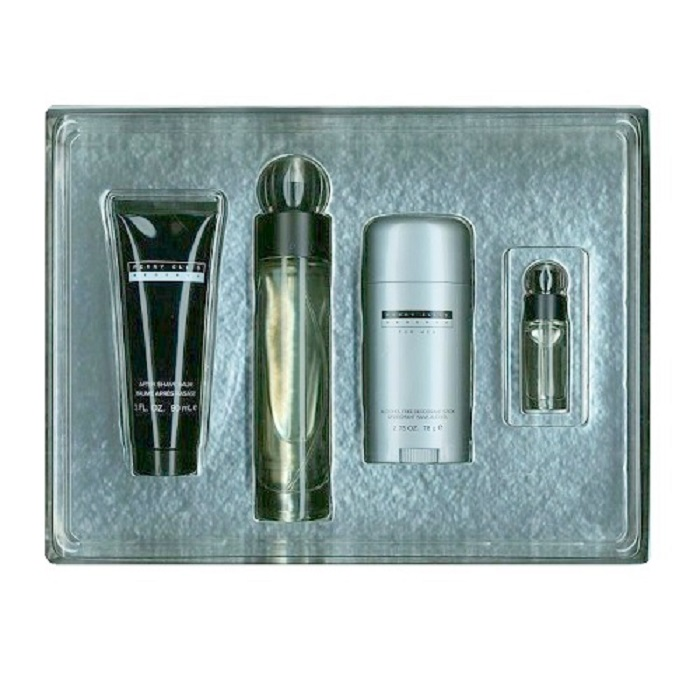 Perry Ellis Reserve Set for Men - 3.4oz Eau De Toilette, 0.25oz Mini, 3.0oz After Shave & 2.75oz Deodorant
