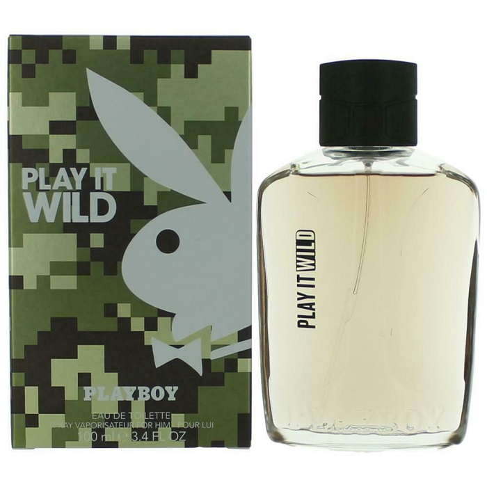 Playboy Play It Wild Cologne by Coty 3.4oz Eau De Toilette Spray for men