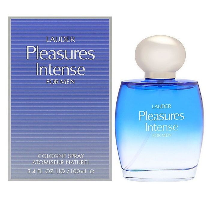 Pleasures Intense Cologne by Estee Lauder 3.4oz Cologne spray for men