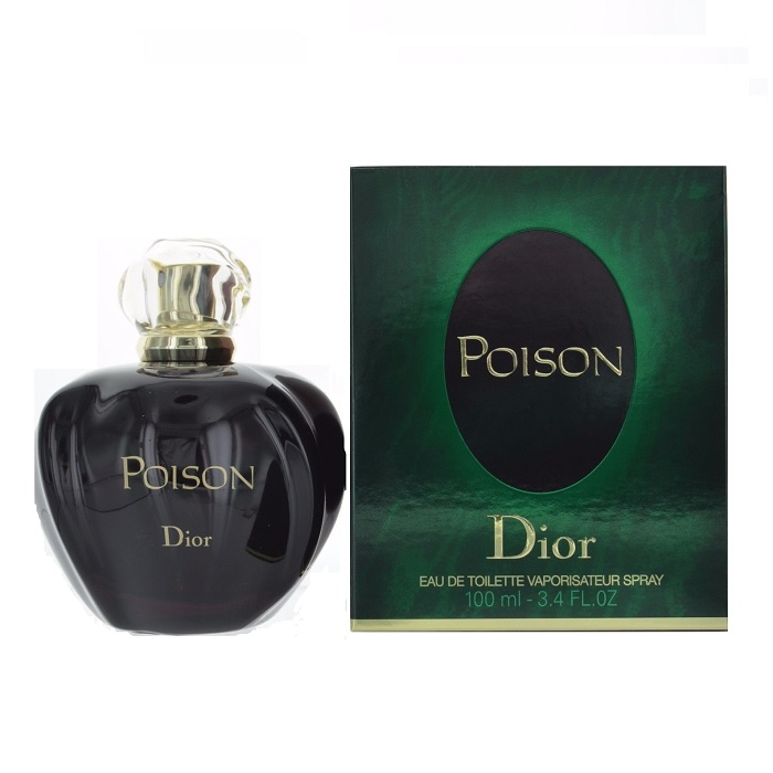 Poison Perfume by Christian Dior 3.4oz Eau De Toilette spray for Women