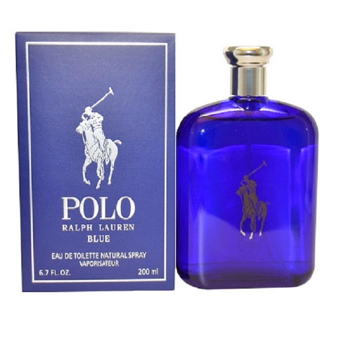 Polo Blue Cologne by Ralph Lauren 6.7oz Eau De Toilette spray for Men