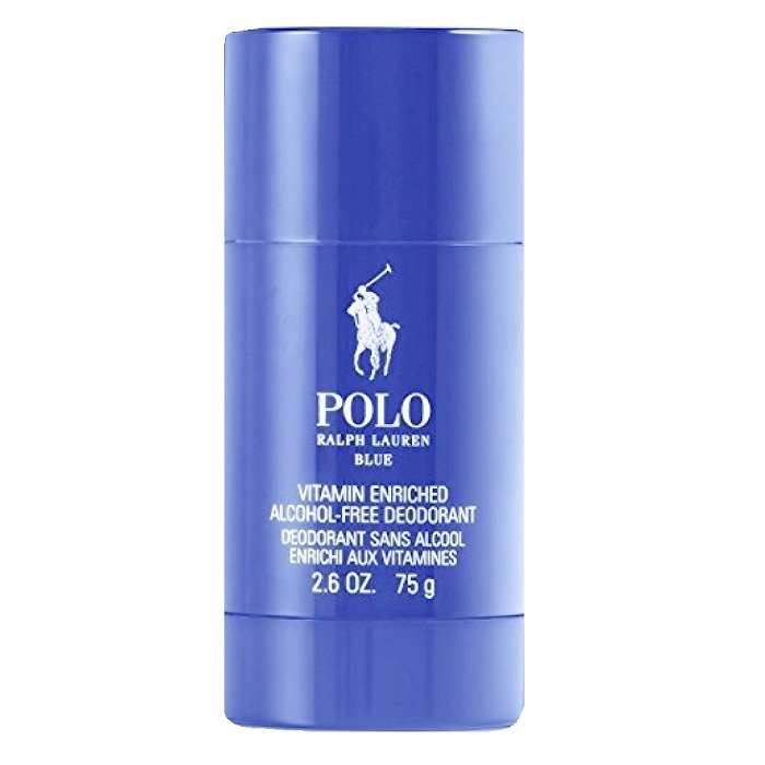 Polo Blue Deodorant stick by Ralph Lauren 2.6oz for Men