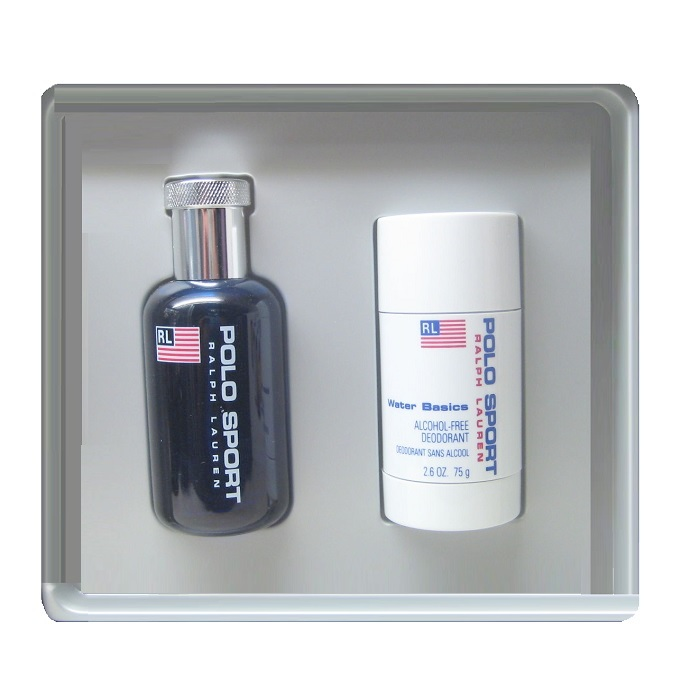 Polo Sport Gift Set for Men - 2.5oz eau de toilette spray and 2.5oz deodorant stick