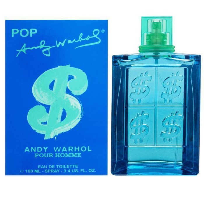 Pop Andy Warhol Cologne by Andy Warhol 3.4oz Eau De Toilette Spray for men