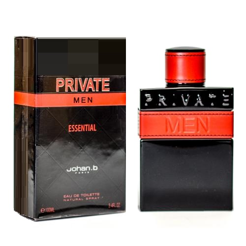 Private Essential Cologne by Johan B. 3.4oz Eau De Toilette Spray for men