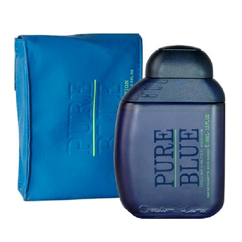 Pure Blue Cologne by Creation Lamis 3.4oz Eau De Toilette spray for men