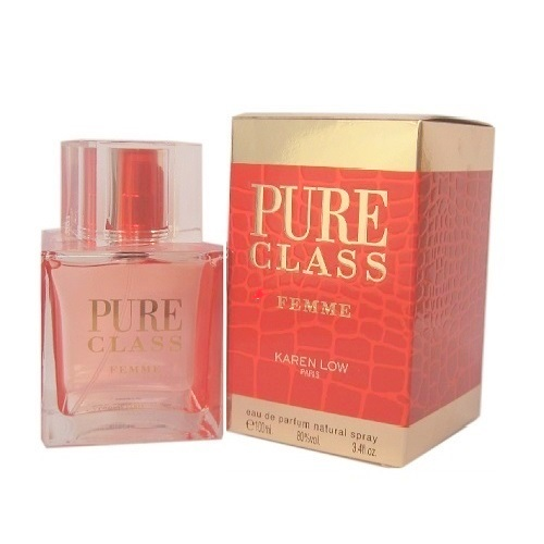 Pure Class Perfume by Karen Low 3.4oz Eau De Parfum spray for Women