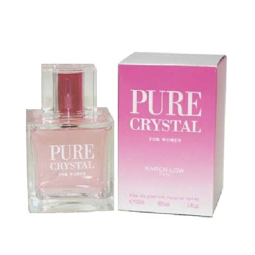 Pure Crystal Perfume by Karen Low 3.4oz Eau De Parfum spray for Women