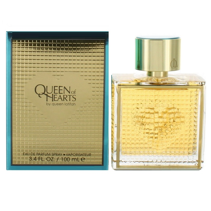 Queen of Hearts Perfume by Queen Latifah 3.4oz Eau De Parfum spray for women