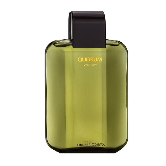 Quorum After Shave Lotion (liquid) by Antonio Puig 3.4oz for Men (unbox)
