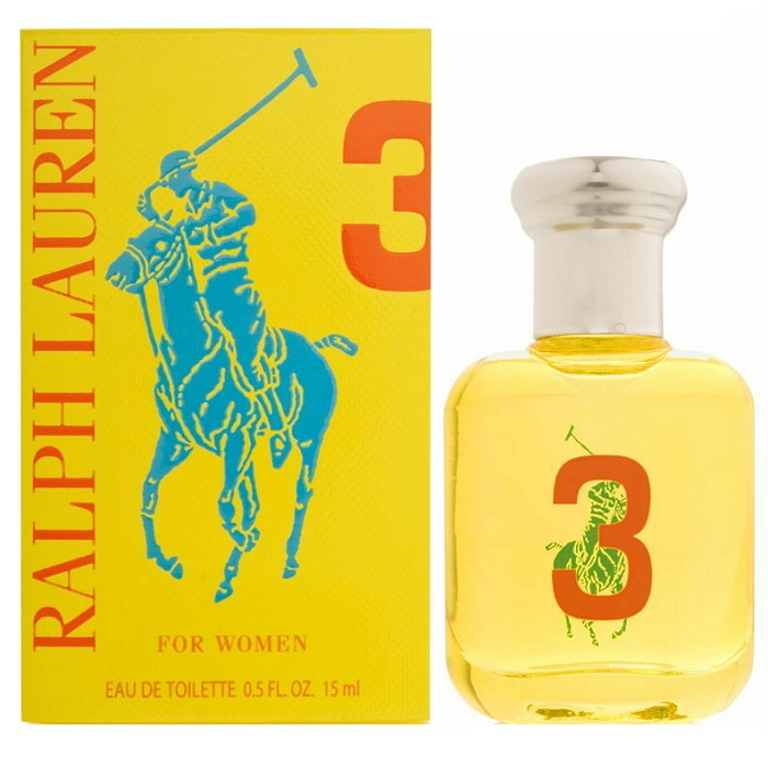 Big Pony 3 Yellow Mini Perfume by Ralph Lauren 0.5oz / 15ml Eau De Toilette for women