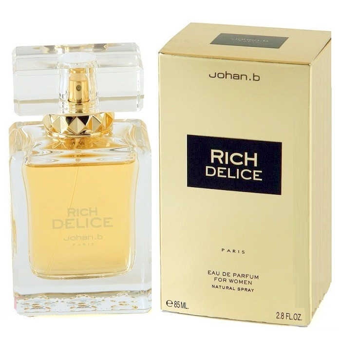 Rich Delice Perfume by Johan B 2.8oz Eau De Parfum Spray for women