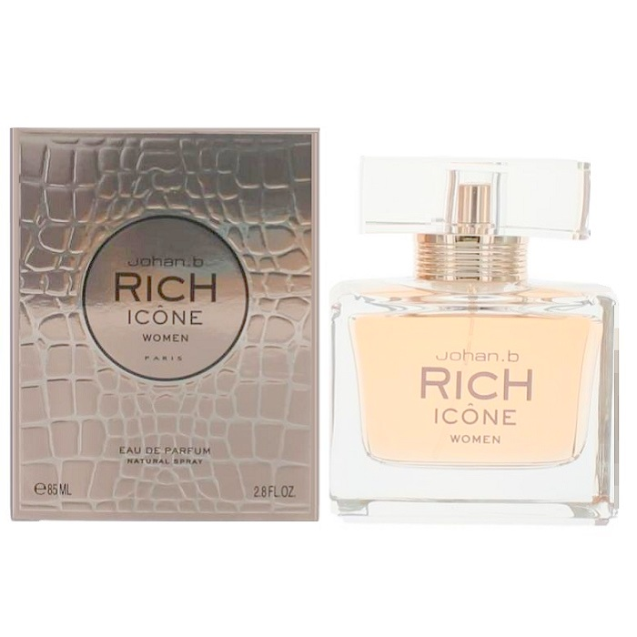 Rich Icone Perfume by Johan B 2.8oz Eau De Parfum Spray for women