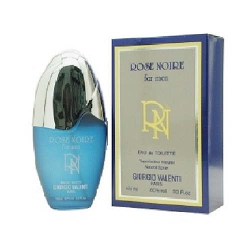Rose Noire Cologne by Giorgio Valenti 3.4oz Eau De Toilette spray for Men